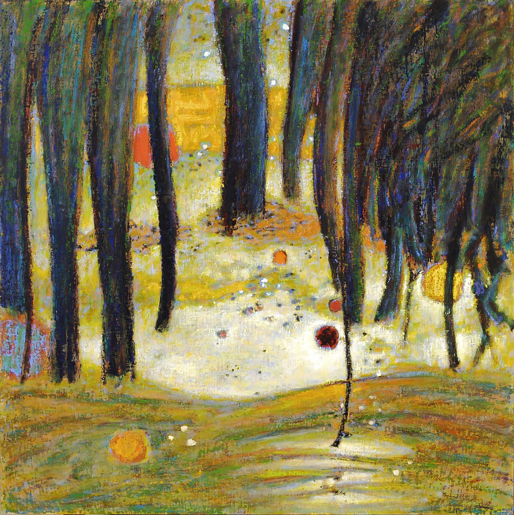 The Other Side of Night  | oil on canvas | 48 x 48"