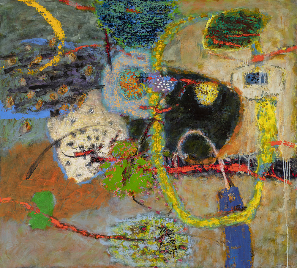 Synergy  | oil on canvas | 36 x 40"