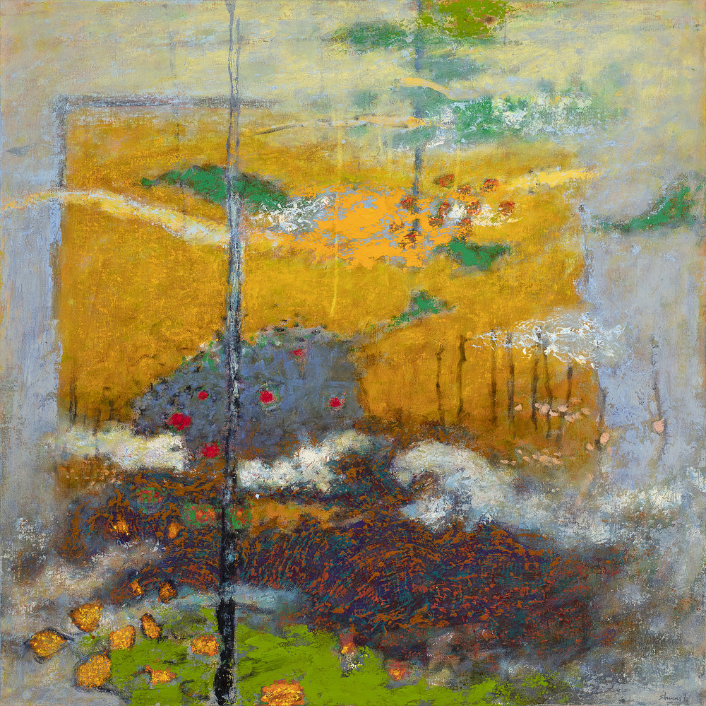 Overview Effect | oil on canvas | 36 x 36"