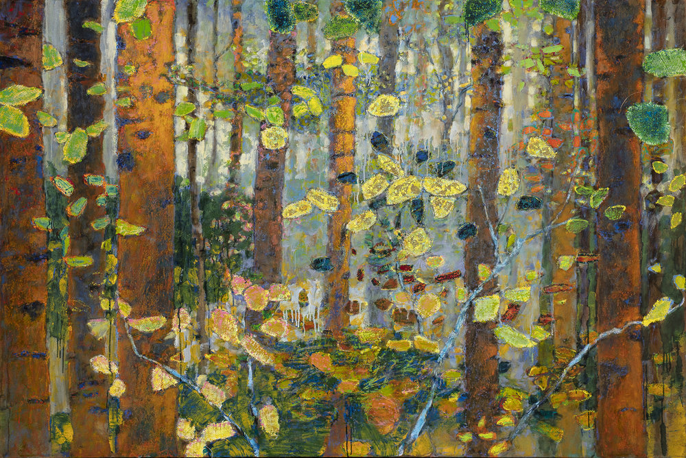 The Forest For the Trees | oil on canvas | 48 x 72""