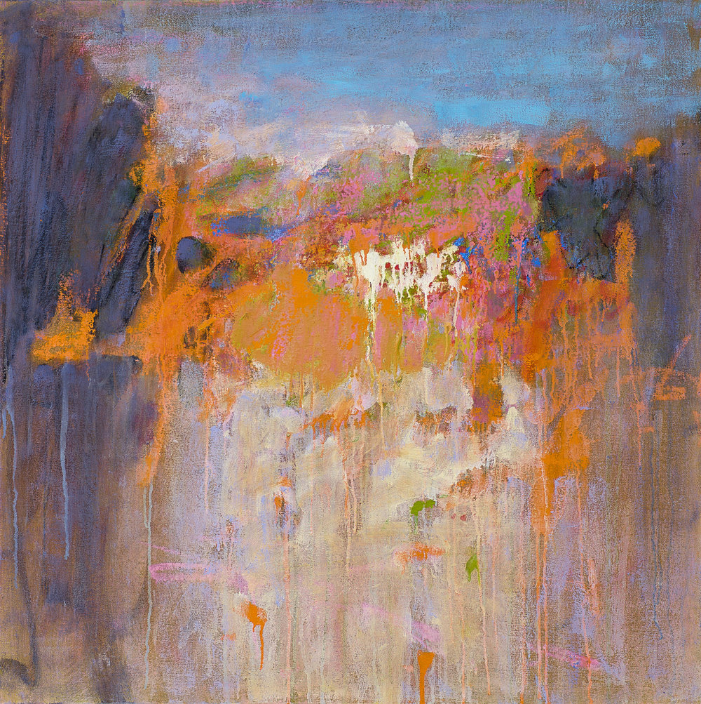 The Beauty Within   | oil on canvas | 32 x 32"
