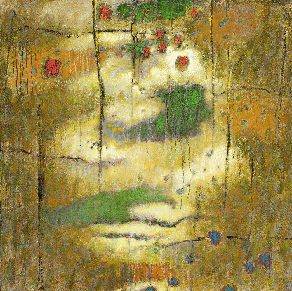 "Inside  | oil on canvas | 48 x 48"" | 2010"