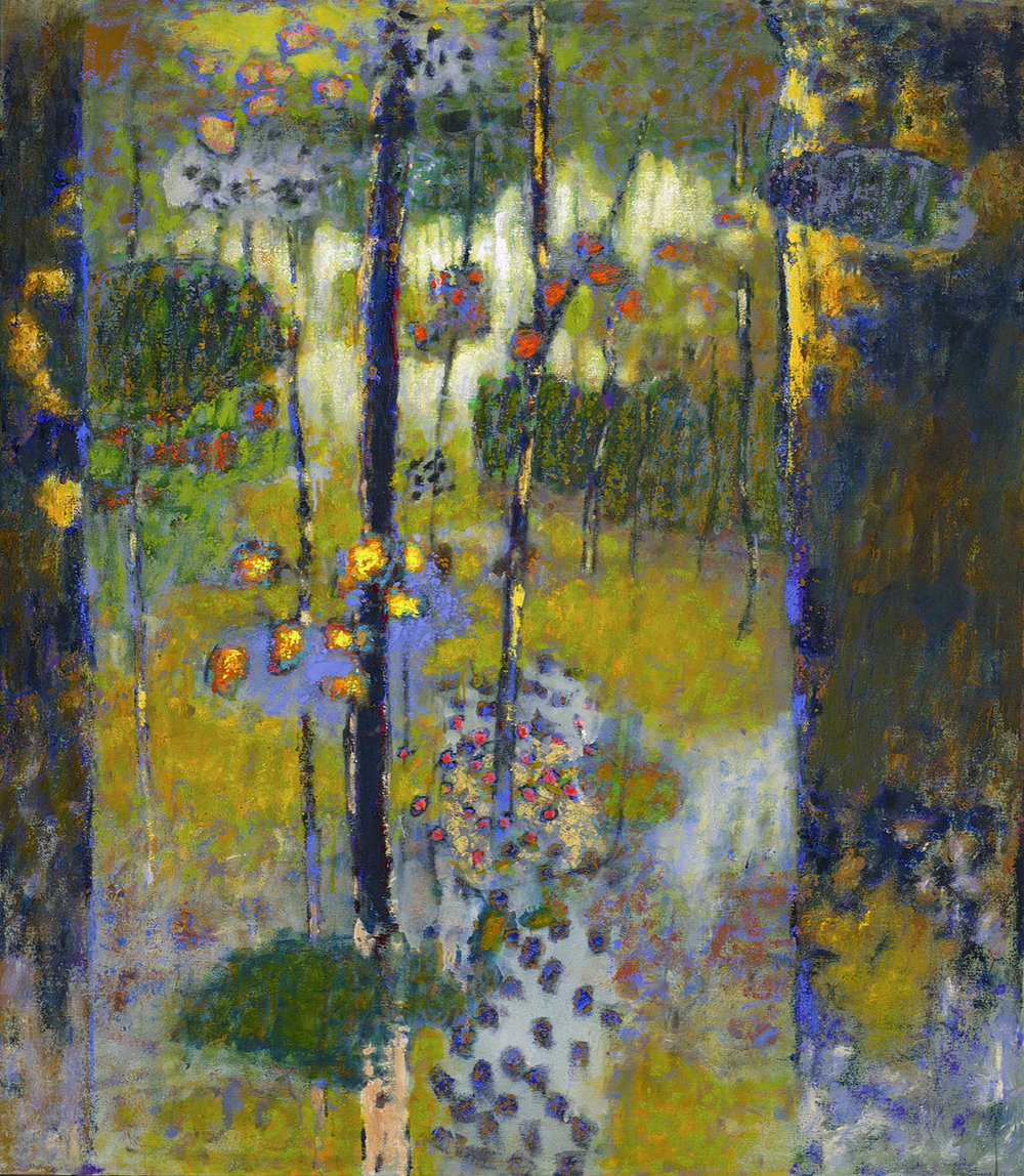 Pure Ceremony   | oil on canvas | 55 x 48"