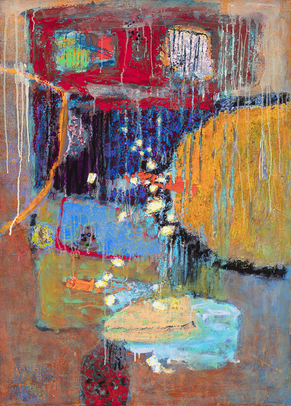 Abstract Knowledge  | oil on canvas | 36 x 26"