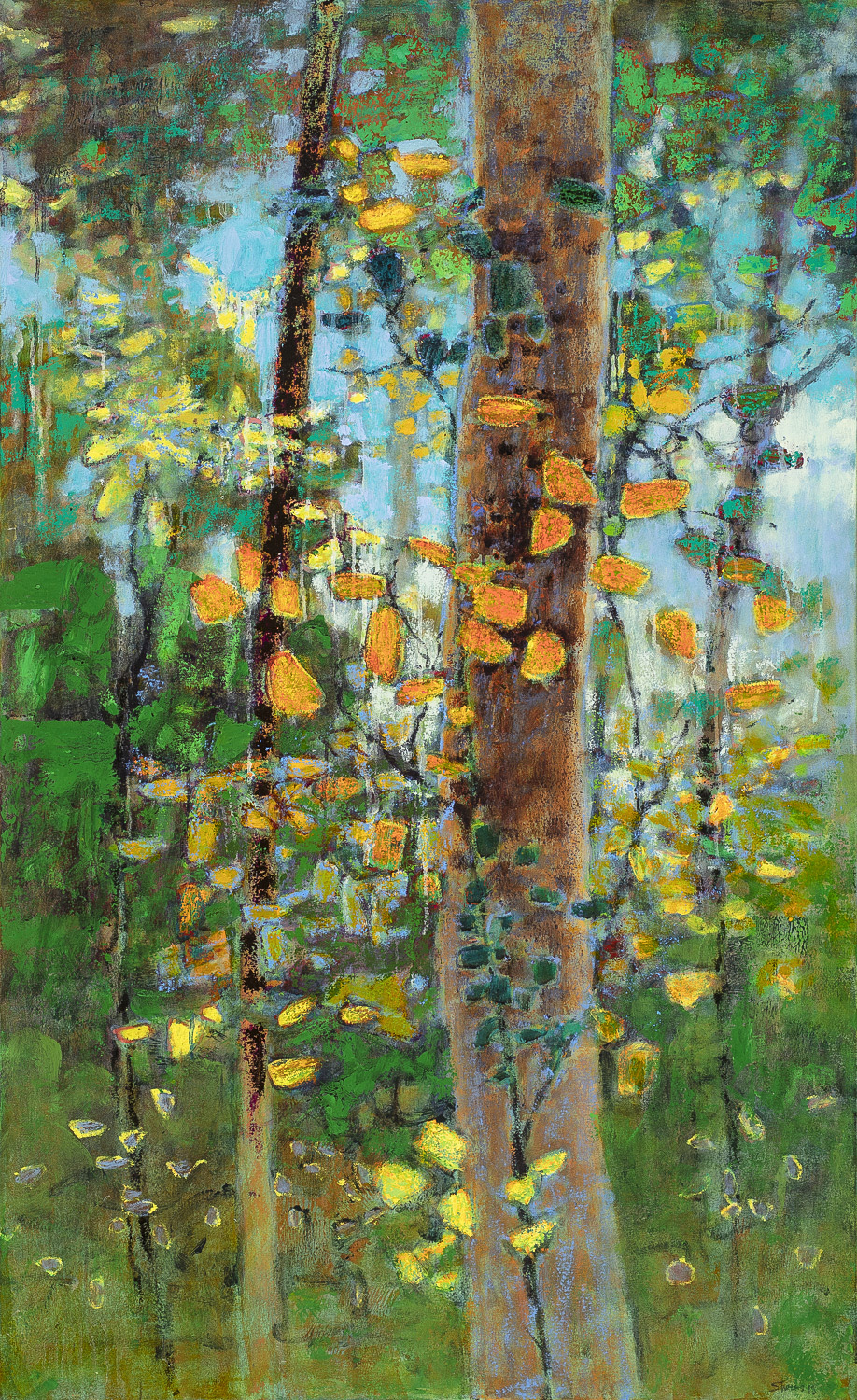 Moment of Gratitude  | oil on canvas | 52 x 32"