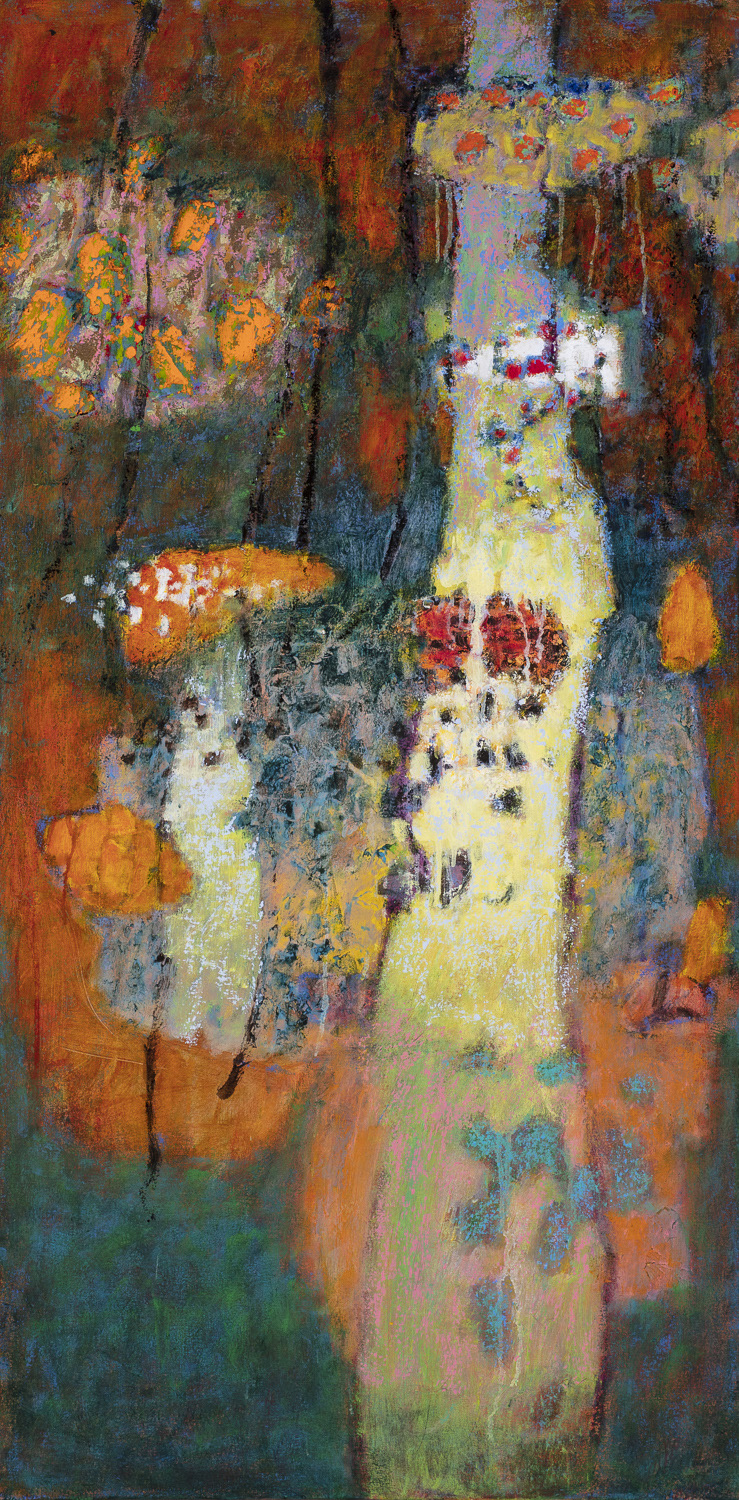 Unhindered  | oil on canvas | 48 x 24"