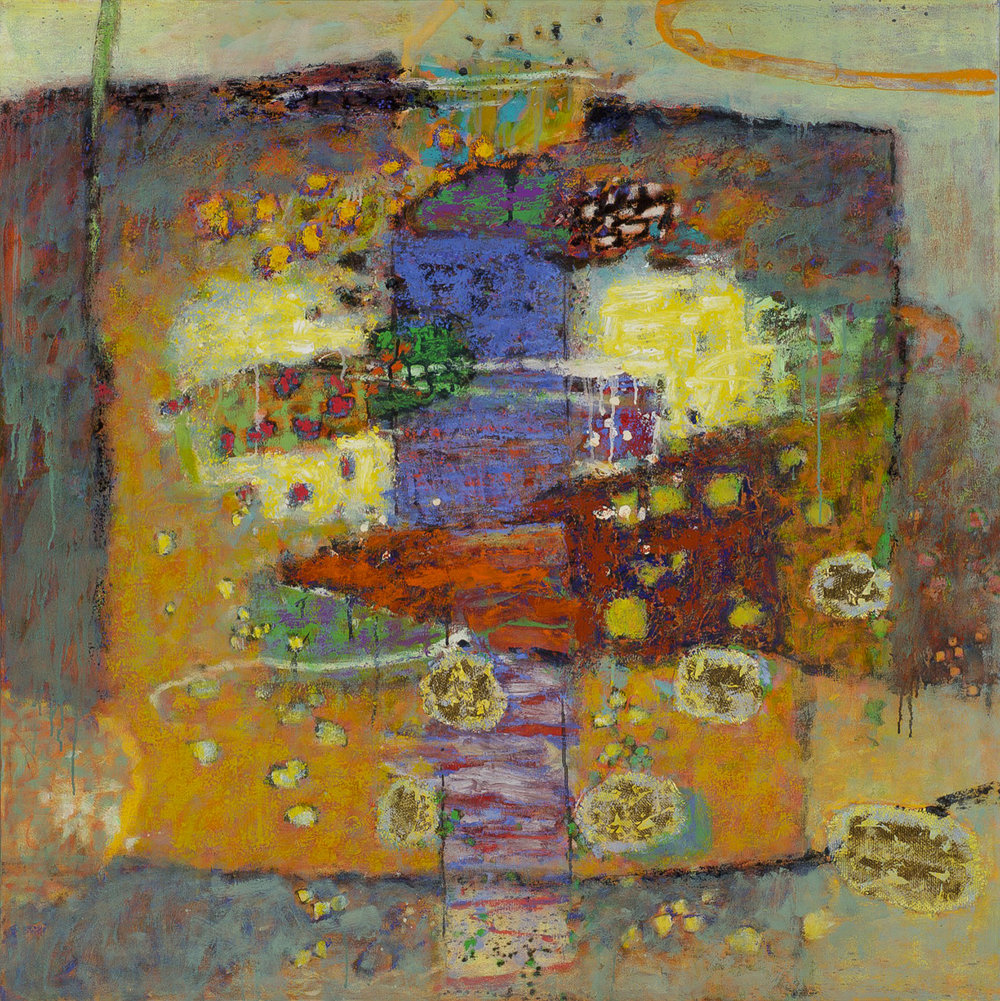 Inverted Convert  | oil on canvas | 48 x 48"