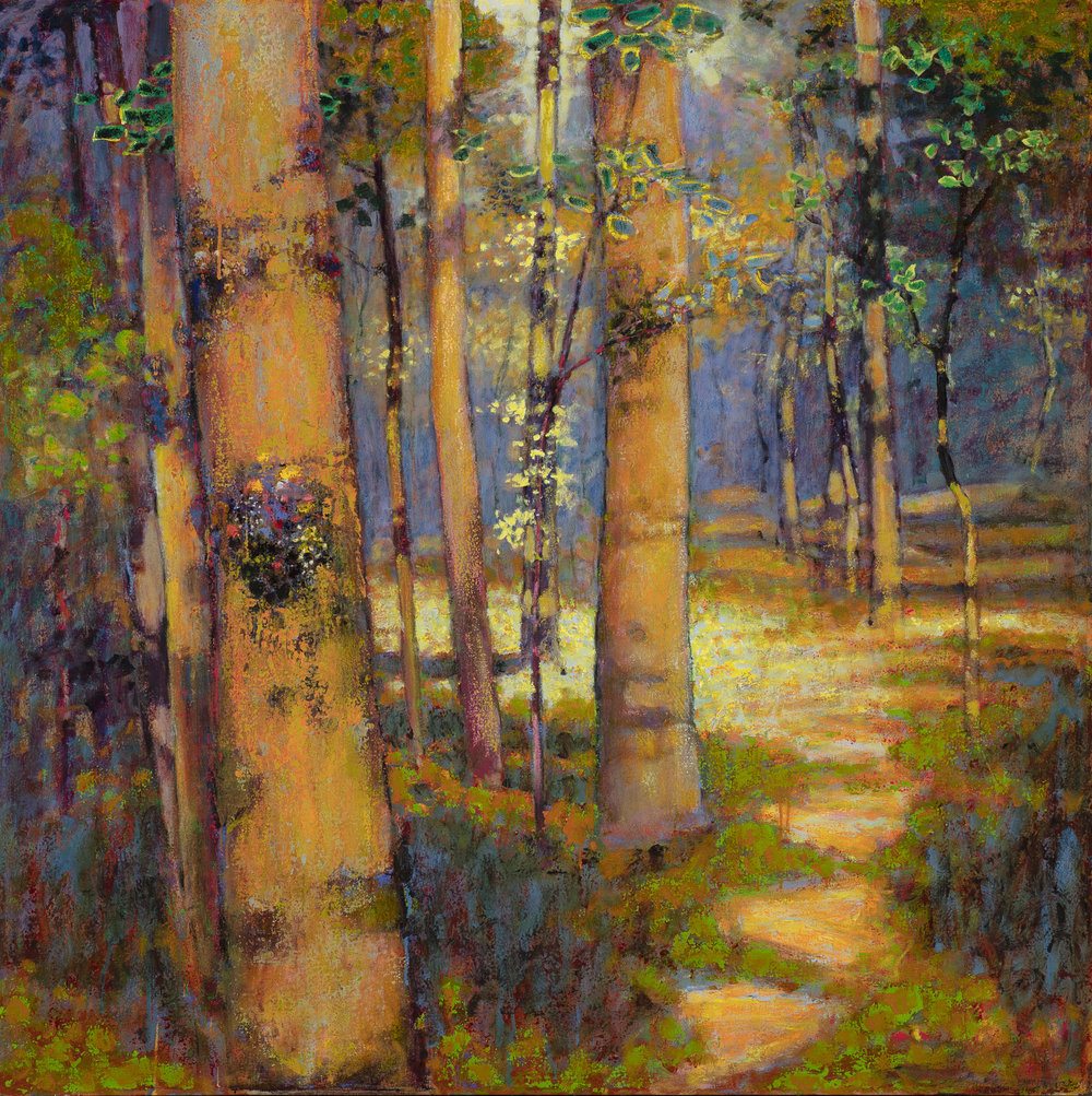 The Forest is Calling  | oil on canvas | 48 x 48"