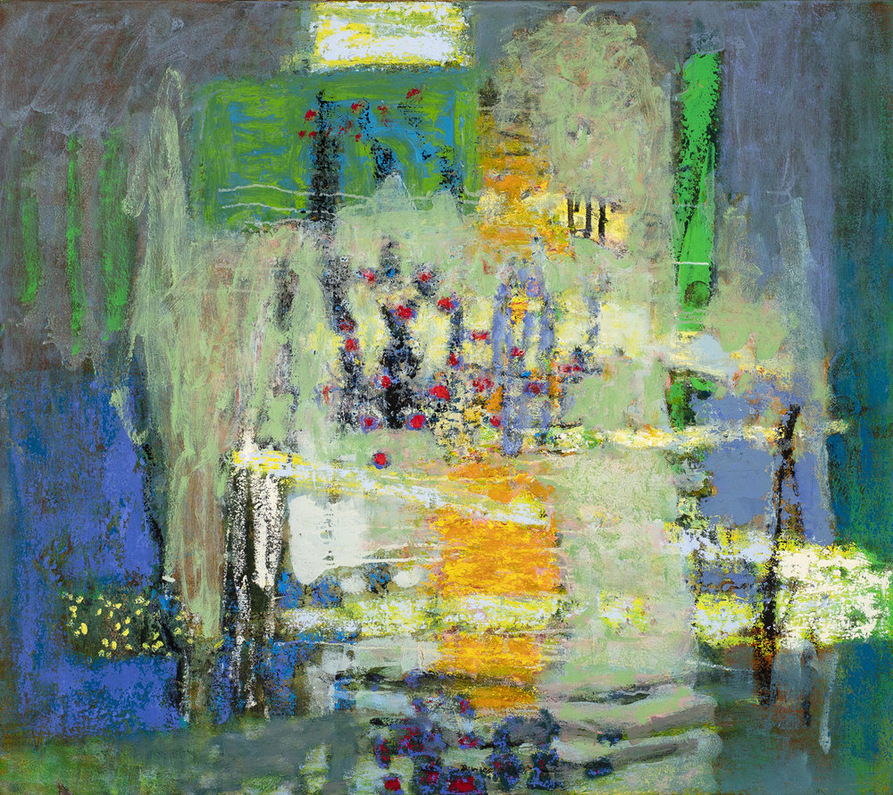 One Implies the Other  | oil on canvas | 32 x 36"