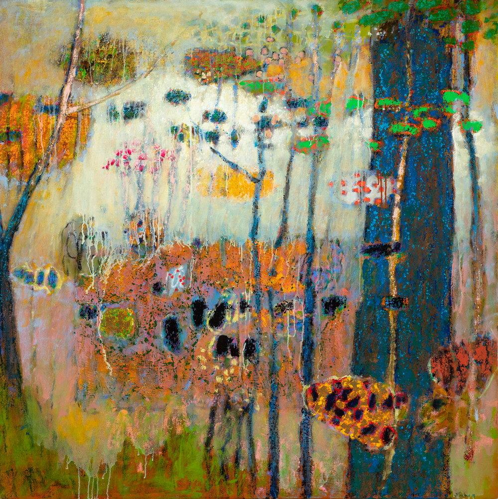 "Living Chorus | oil on canvas | 48 x 48"""