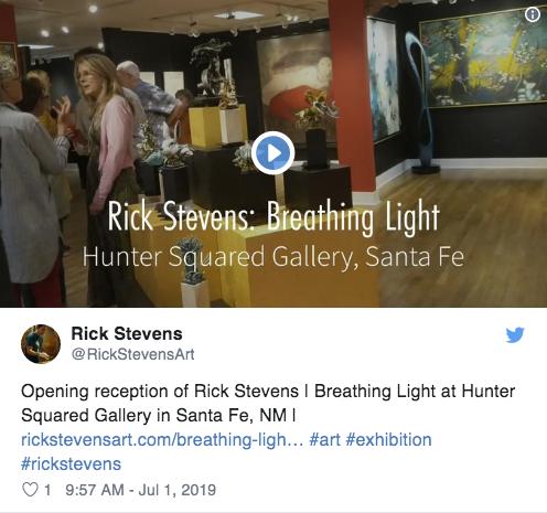 opening reception — Rick Stevens Art