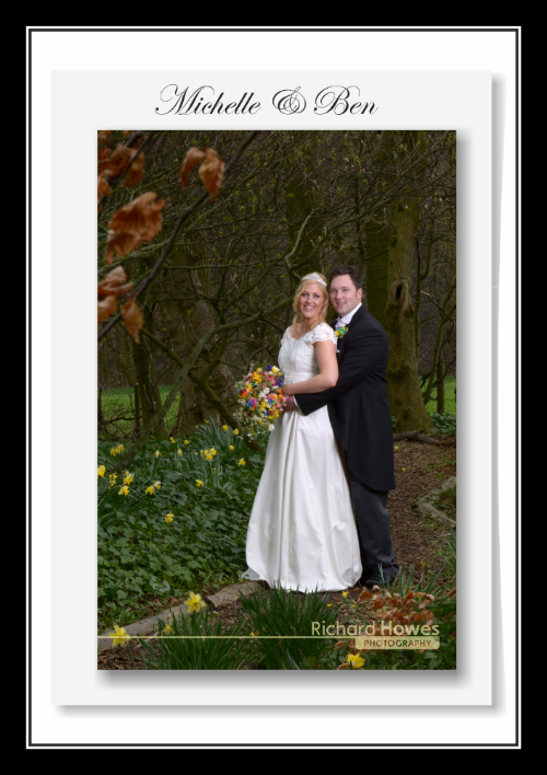 Congratulations to Michelle & Ben Edwards who married and had a reception at The Woodlands Hotel, Gildersome, Leeds.