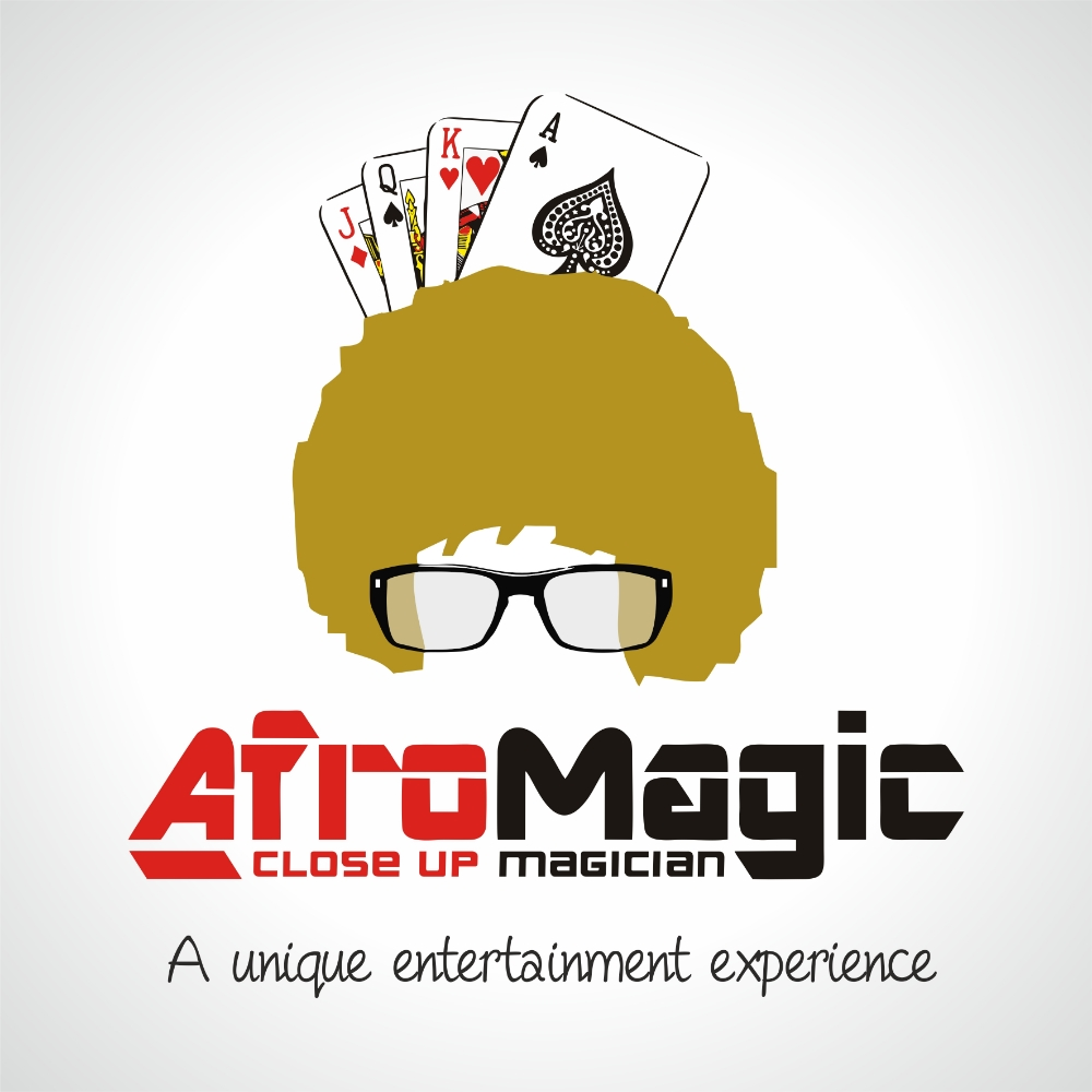 Afro Magic - Afro Magic really is the real deal when it comes to close up magic. I have had the pleasure on watching him on many an occasion and he is without doubt the finest magician I have ever seen live.  He will leave you speechless! If you have a wedding or any other event coming up, I would highly recommend you book him. Click the image for further details.