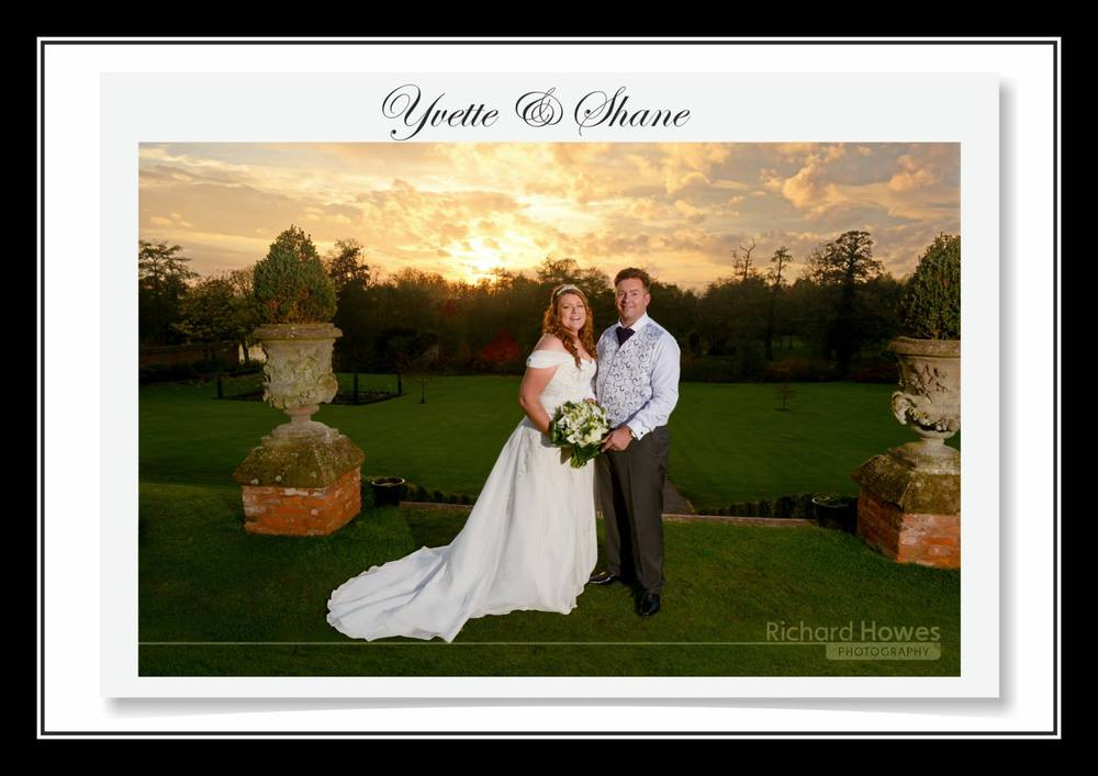 Congratulations to Yvette & Shane Booth who were married and had their reception at Grafton Manor, Bromsgrove.