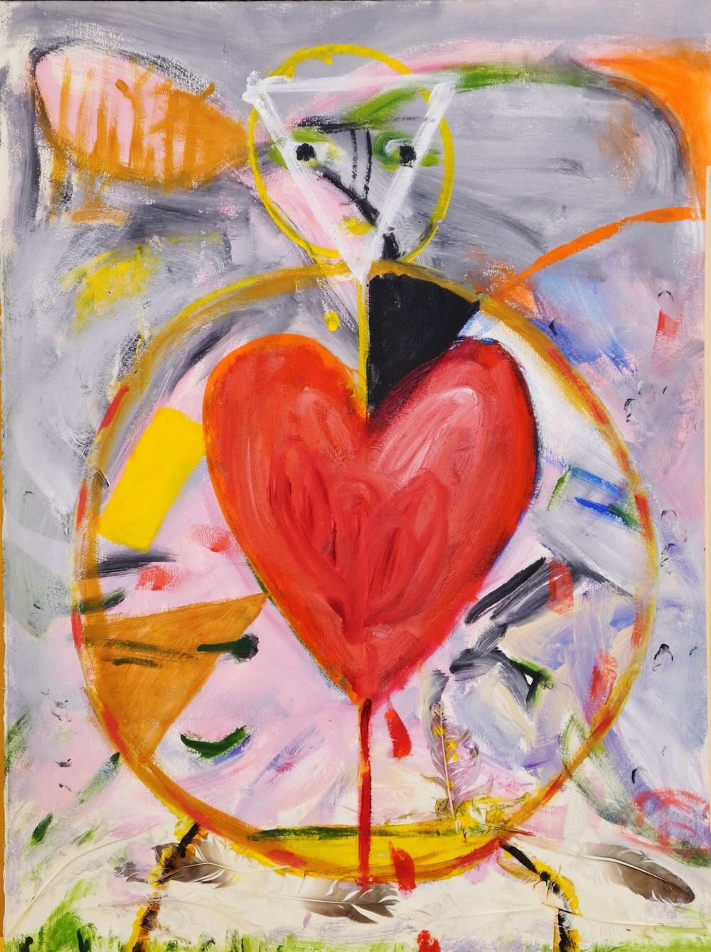 Kittie Bruneau, Flamboyant coeur, 2004