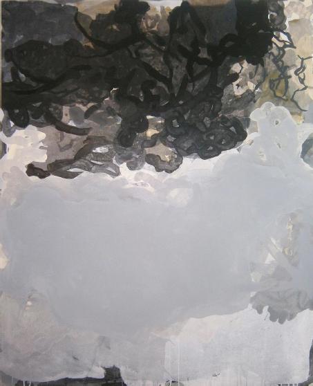 Youssef Gharbaoui, Sans titre, 2012, acrylique sur toile, 160 x 130 cm  © Yous  sef Gharbahoui