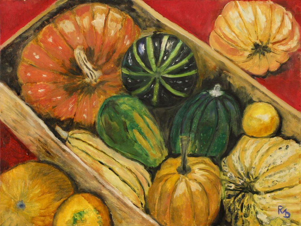 Caisse de légumes, Raúl Mariaca Dalence