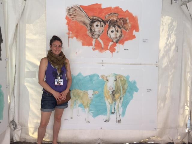 Sarah Hillcock, Gagnante Prix de la Galerie Carte Blanche, Montréal en arts 2016