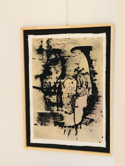 Denis Poirier, acrylique sur toile.