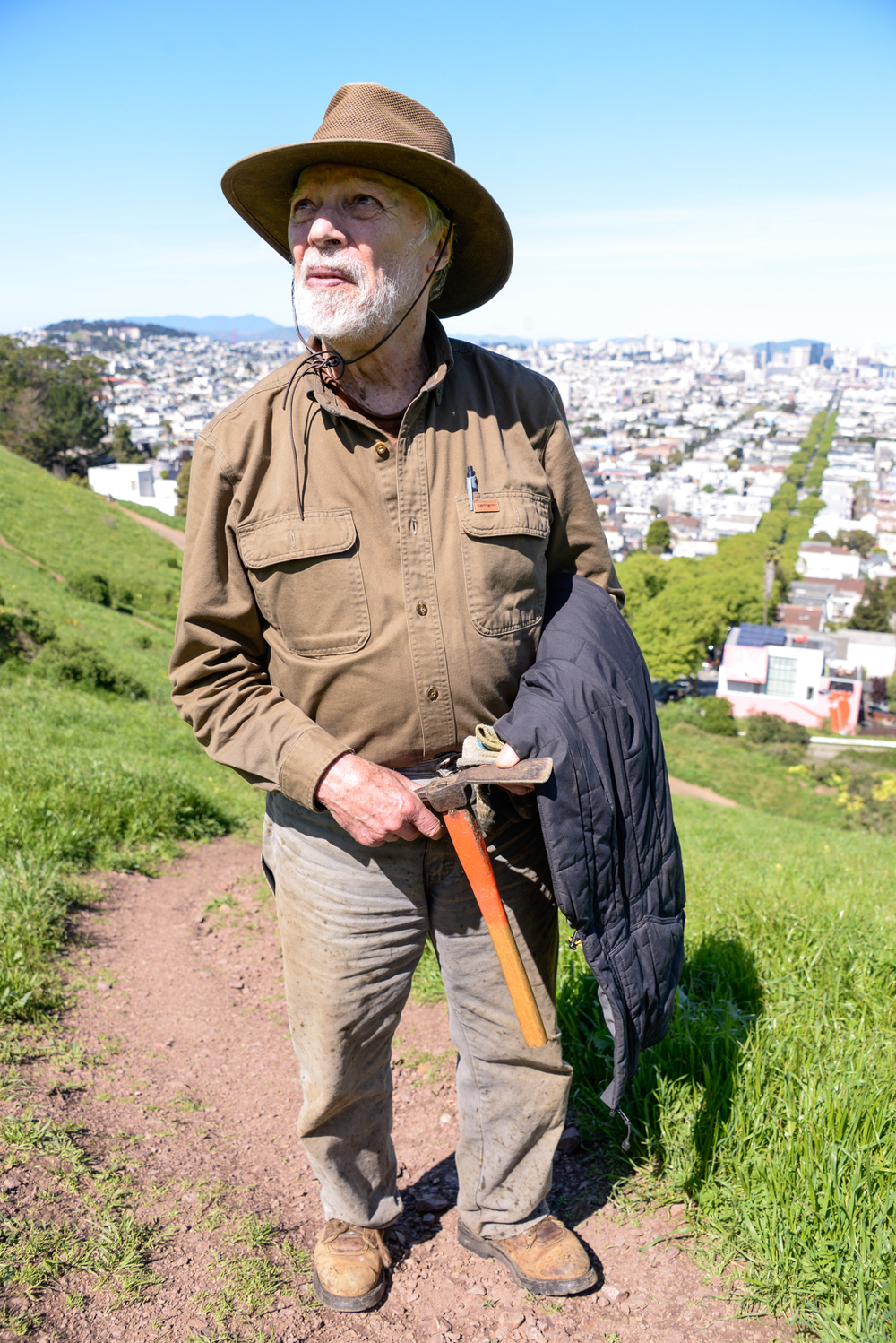 Jake | Bernal Hill | San Francisco