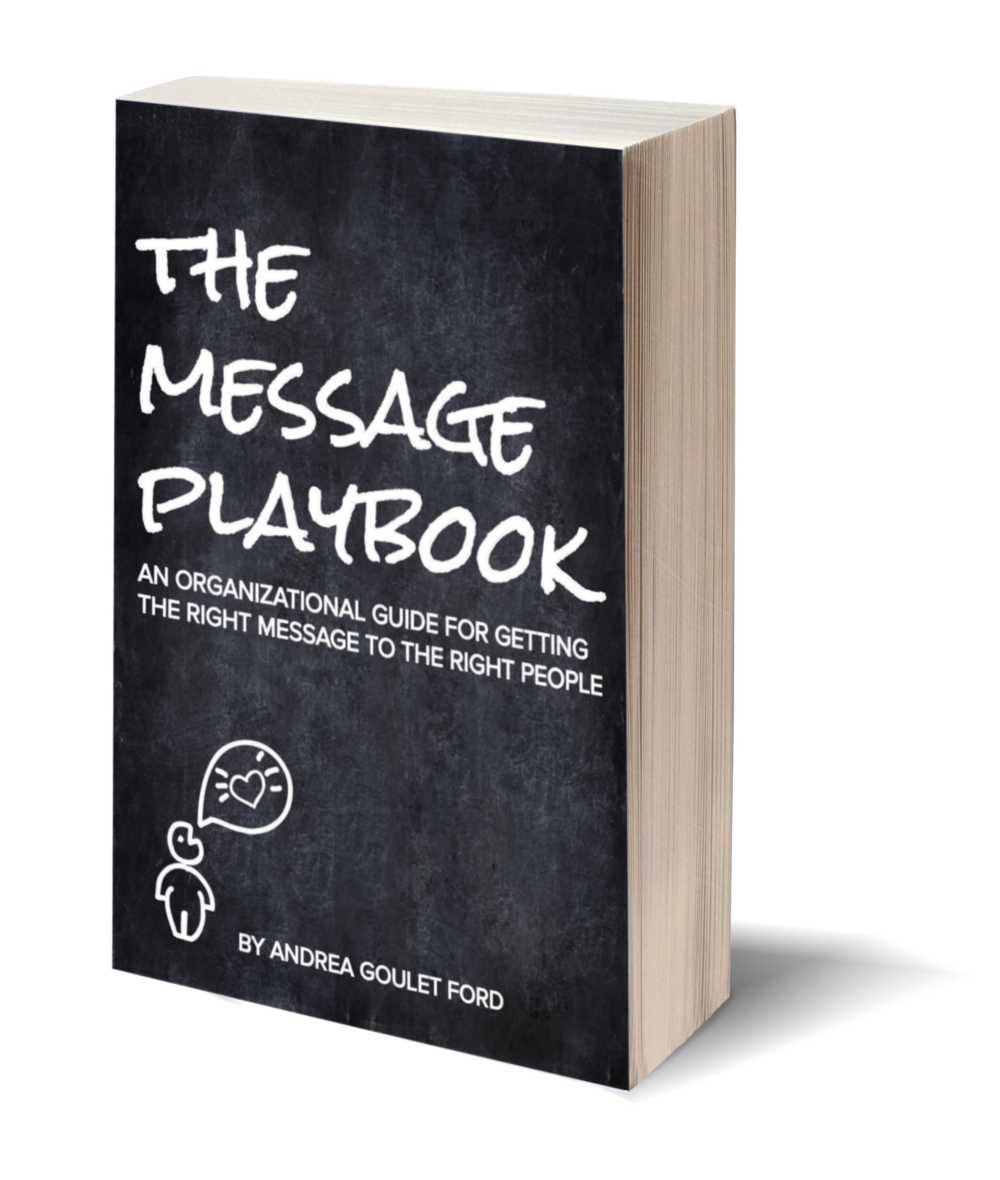 We're writing a book! Learn more and sign up for updates at www.messageplaybook.com.