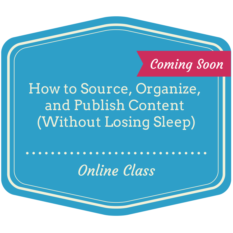 Learn how to curate content like a pro!