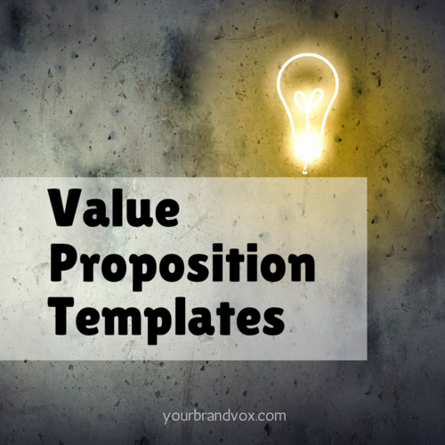13 easy templates for writing a compelling value proposition accmission Choice Image