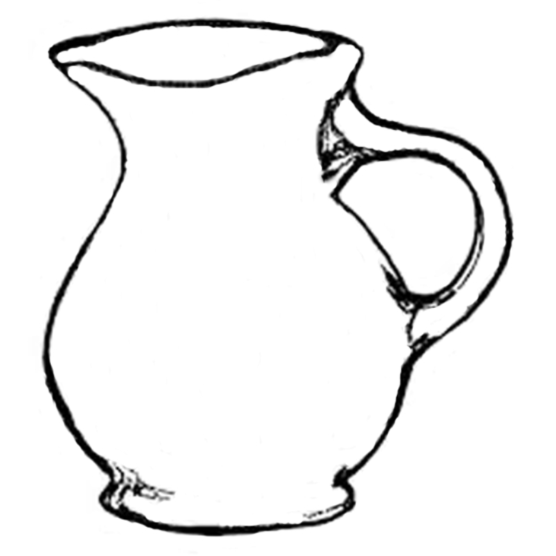 Line Drawing Jug : Gallery — jessica seaton pottery artist