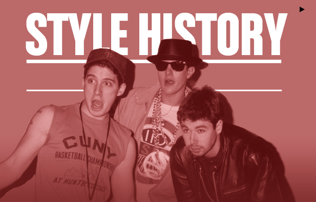 "Feature on the ""Style History"" of the Beastie Boys, Complex.com, May 2013"