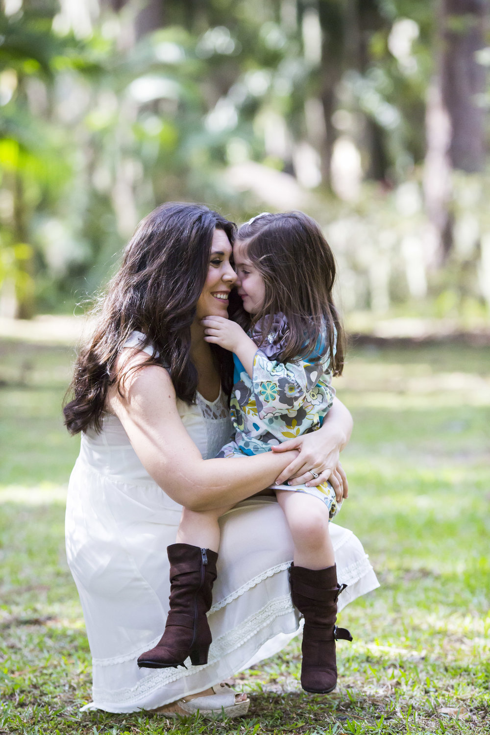 Mother and Daughter, Winter Park Photographer