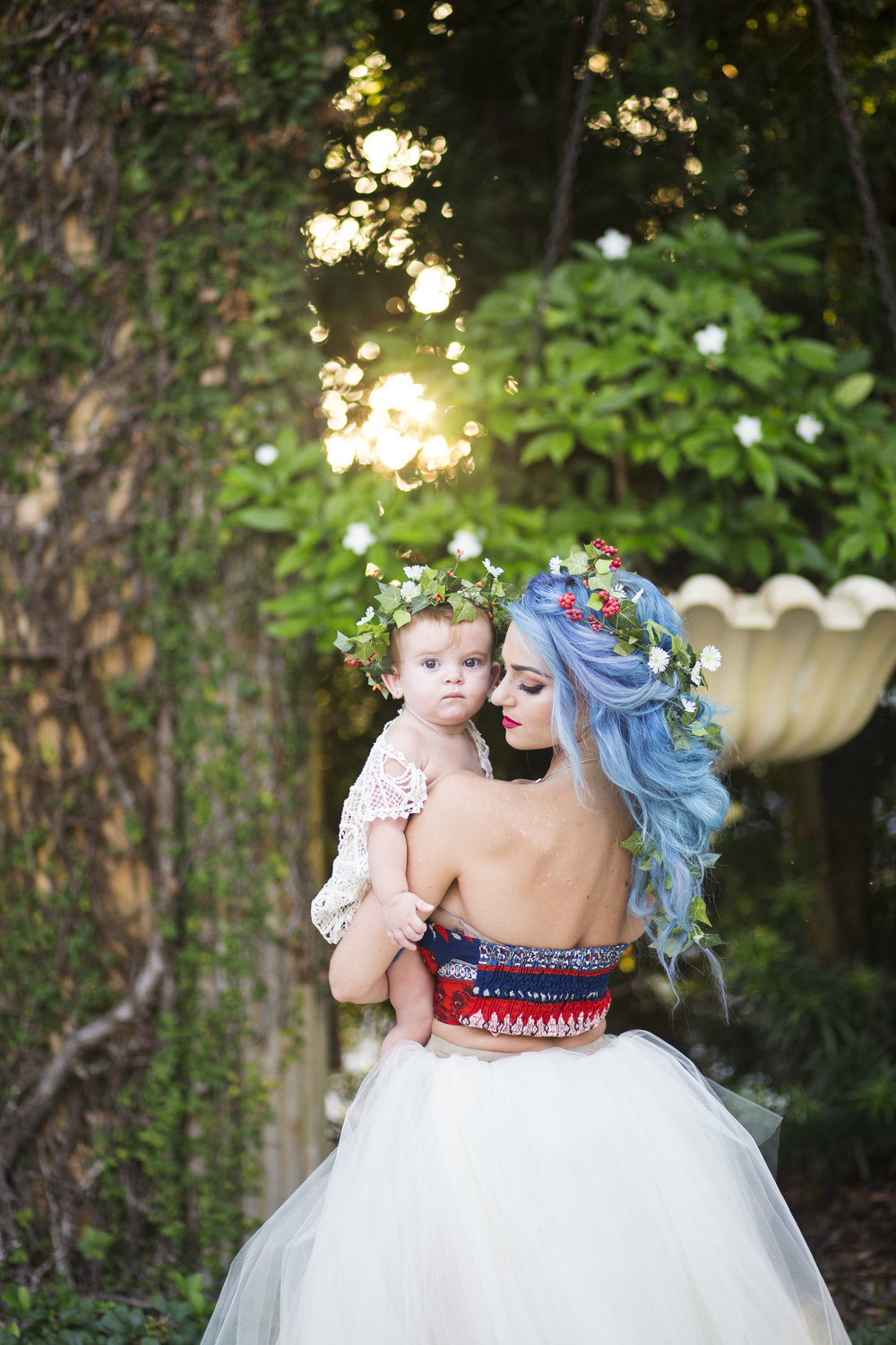 Bohemian Mother and Daughter, Clearwater FL