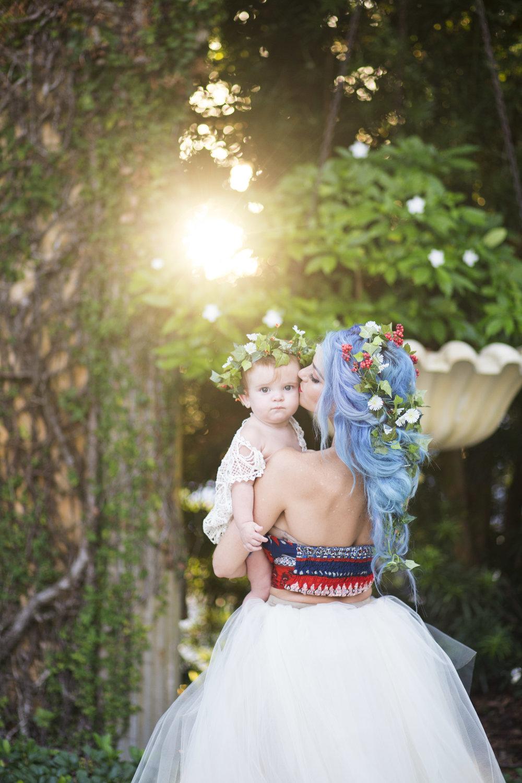 sunrise motherhood session in clearwater fl