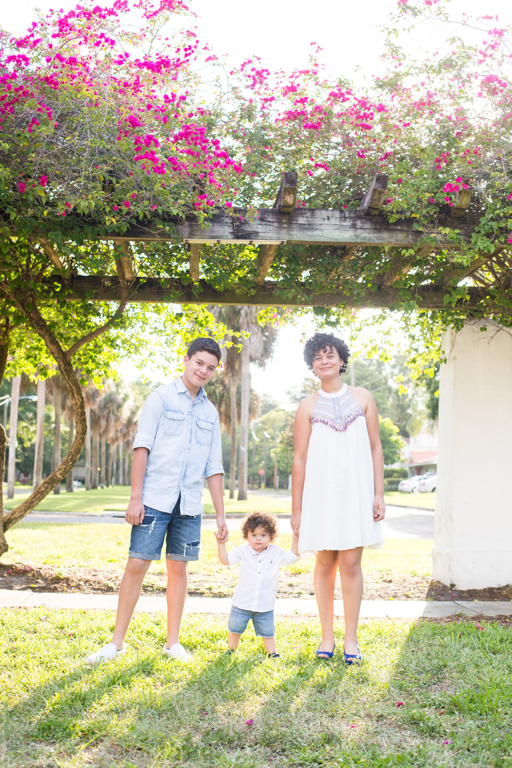 Family session, Old Northeast, St. Pete FL