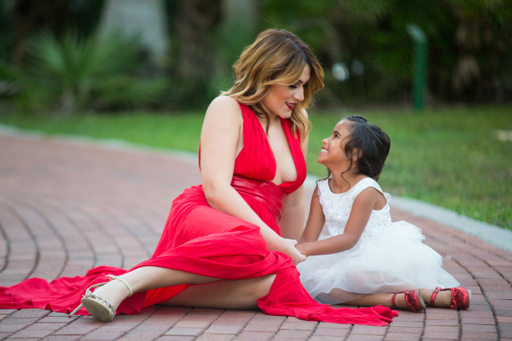 mother and daughter session, the vinoy, downtown st pete