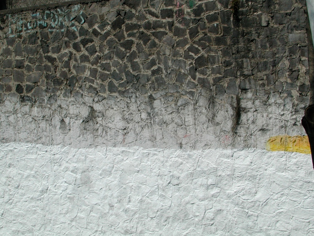 Black & White with Yellow, Mexico City, Mexico 2006
