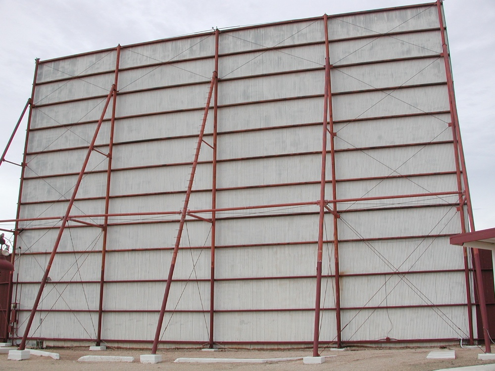 Red Grid on White, Lubbock, Texas 2003