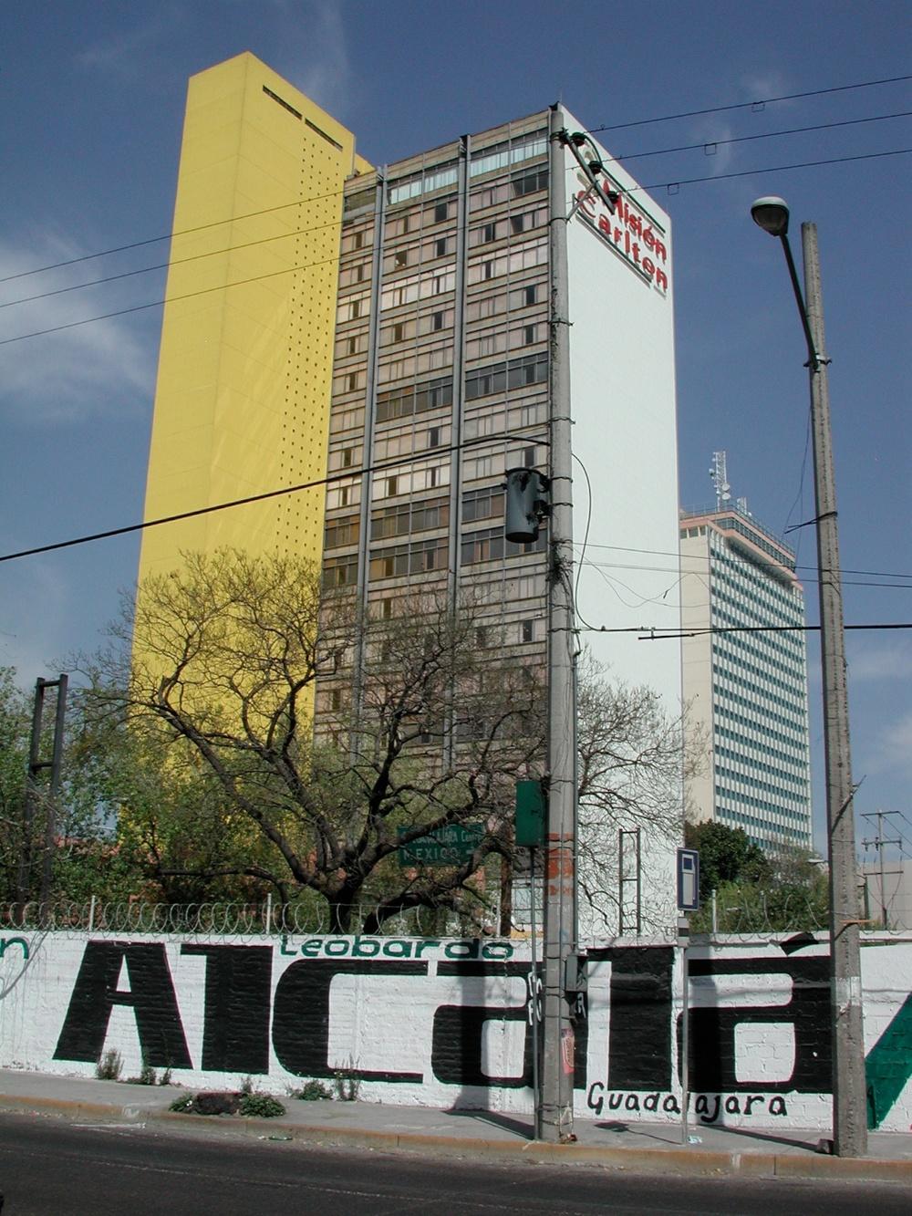 Yellow, Gray & White on Blue Ground, Guadalajara, Jalisco 2006