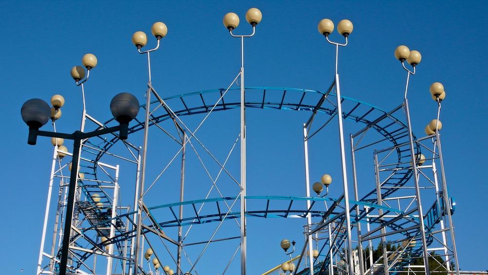 Yellow Balls with Blue Rings, Guadalajara, Jalisco 2007