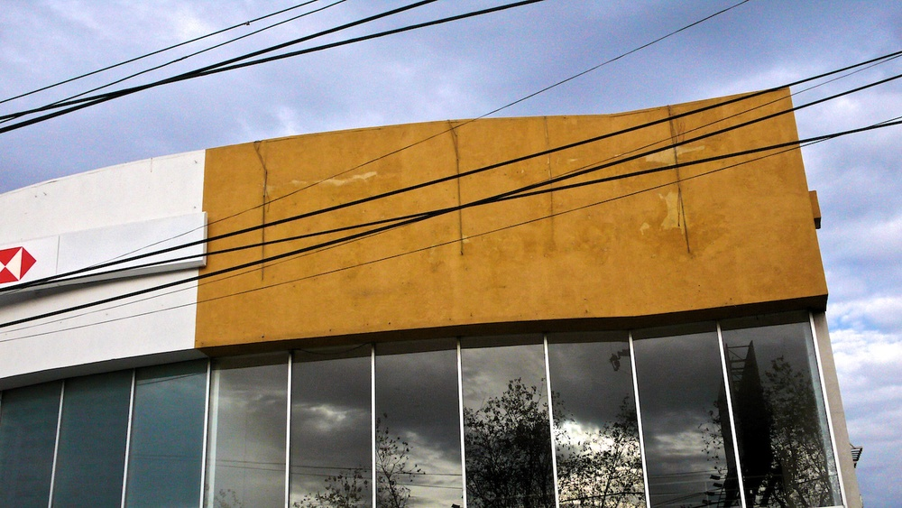 Yellow Rectangle with Windows, Zapopan, Jalisco 2007