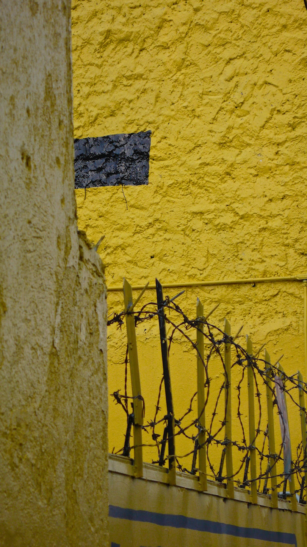 Yellow with Black Rectangle, Zapopan, Jalisco, 2007