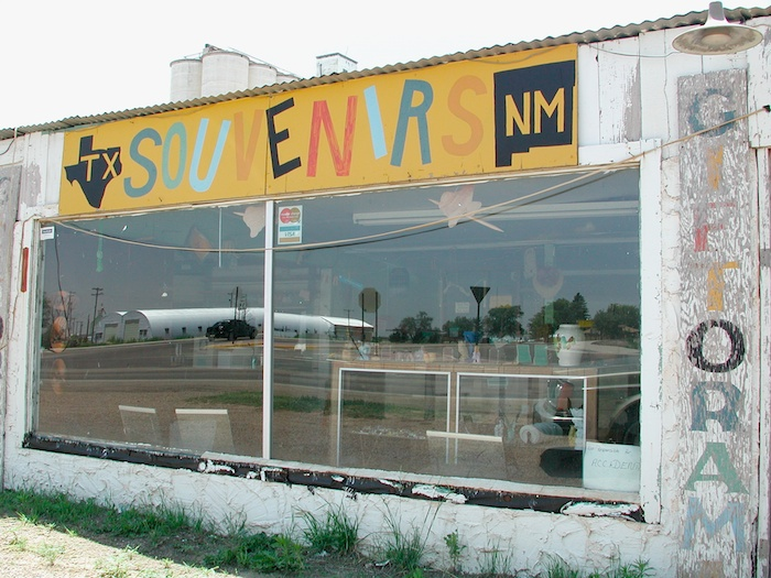 Yellow with SOUVENIRS (GIFTORAMA), New Mexico 2003