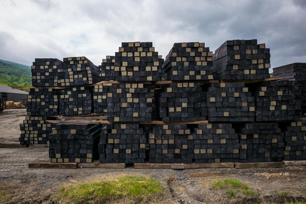 Railroad Tie Processing Plant. Goshen, Virginia 2015