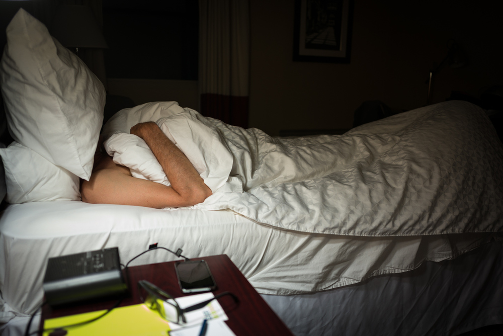 Dennis Sleeping. Asheville, North Carolina 2015