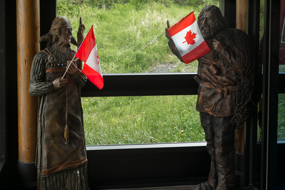 Oh Canada. L'Anse aux Meadows National Historic Site, Newfoundland 2016
