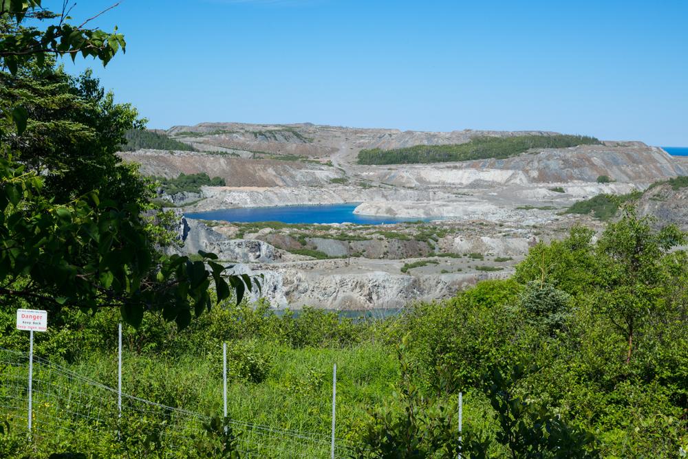 Baie Verte Asbestos Mine. Baie Verte, Newfoundland 2016