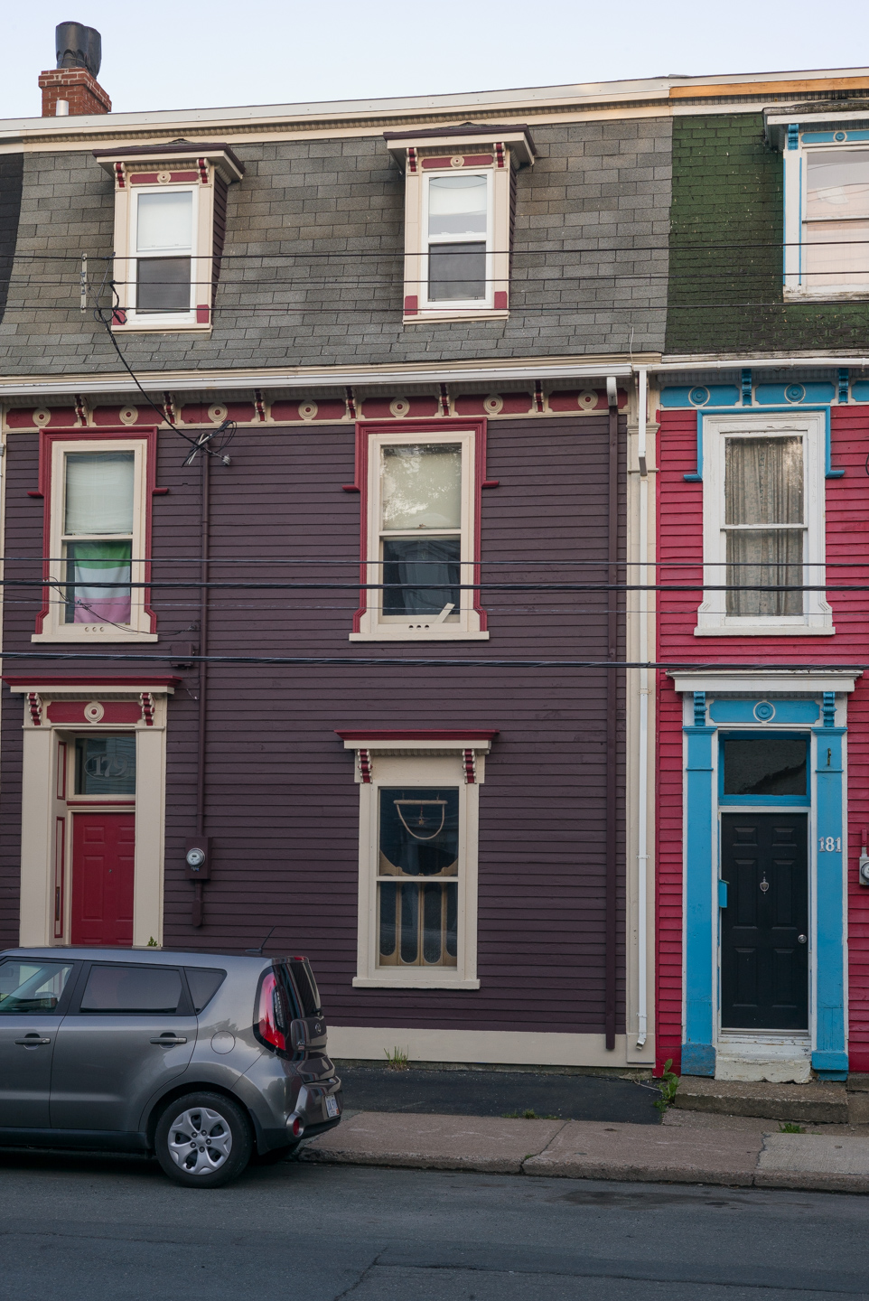 The Pink, White, and Green. St. John's, Newfoundland 2016