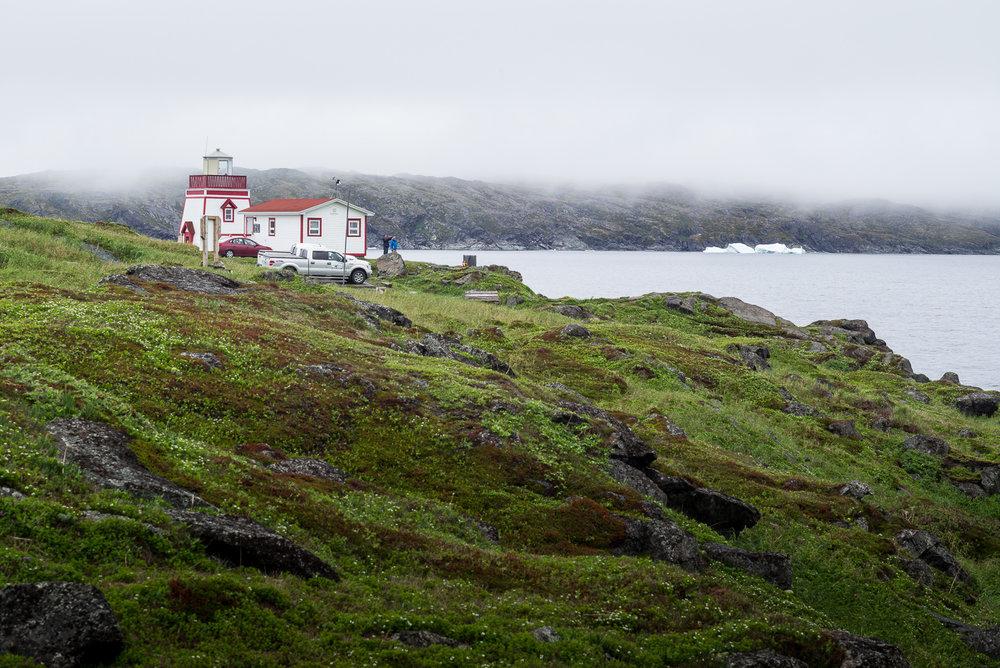 Fishing Point Lighthouse. St. Anthony, Newfoundland 2016