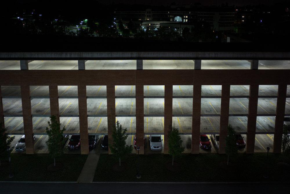 Parking Garage. Johnson City, Tennessee 2015