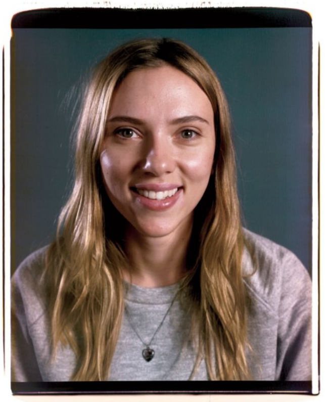 Scarlett Johansson photographed by Chuck Close for March 2014 Vanity Fair. HT Garance Doré.