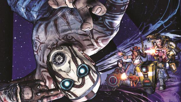 Borderlands: The Pre-Sequel Cover Art